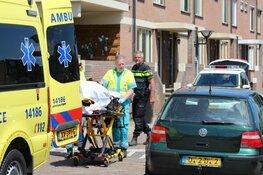 Botsing tussen twee fietssters in Huizen