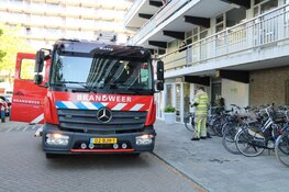 Keukenbrand in Weesp snel onder controle