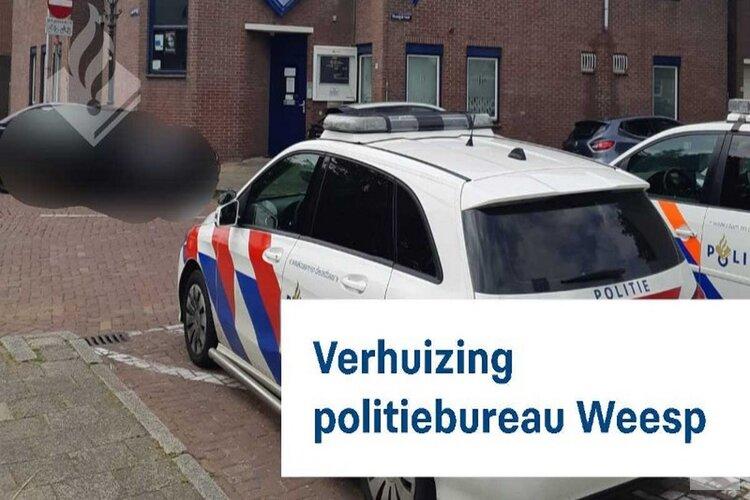 Verhuizing politiebureau Weesp
