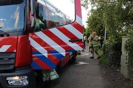 Brandweer blust keukenbrand in Weesp