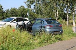 Zeker twee auto's total loss bij ongeval Ankeveen