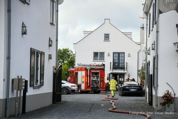 Brand in appartementencomplex in Loosdrecht