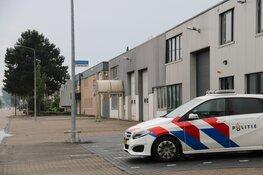 Politie-actie op bedrijventerrein in Weesp