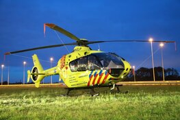 Traumaheli defect na rendez-vous in Muiden