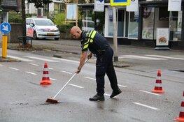 Maaltijdbezorger gewond na botsing in Bussum