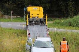 Bestuurder gevlucht na crash in Muiderberg