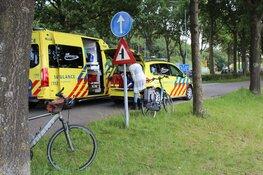 Vrouw gewond na val van fiets