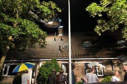 Kat vast in schoorsteenkanaal in Huizen