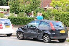 Schade na ongeval in Bussum