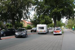 Schade na ongeval in Bussum