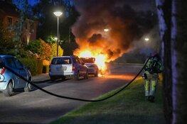 Auto in vlammen op in 's-Graveland