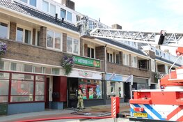 Brand in dak boven New York Pizza Bussum