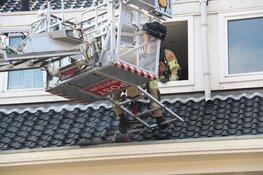 Brand in dak boven New York Pizza Bussum