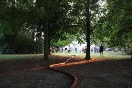 Brandweer Naarden zorgt voor waterfestijn