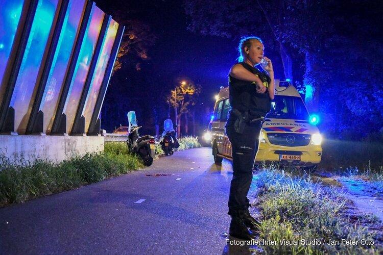 Getuigen gezocht eenzijdig ongeluk met scooter in Hilversum