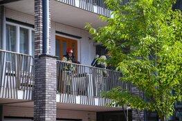 Middelbrand Egelantiestraat in Hilversum
