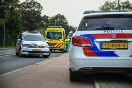 Gewonde bij botsing tussen fietser en snorbrommer in Hilversum