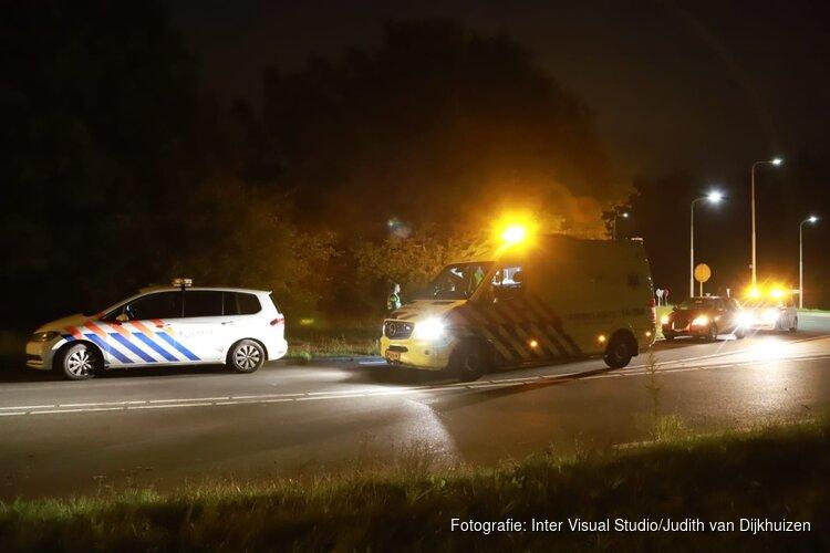 Scooterrijder gewond na eenzijdig ongeval