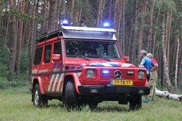 Mountainbiker zwaargewond na ongeval in Laren