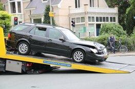 Flinke verkeerschaos in Bussum na ongeval op kruising
