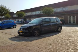 Auto total loss na incident in Bussum