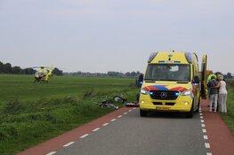 Ernstige aanrijding in Eemnes, politie zoekt naar man