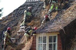 Grote woningbrand in Blaricum
