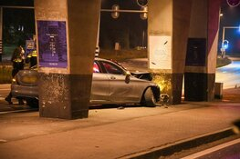 Auto total loss na ongeval in Huizen