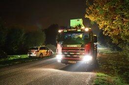 Drie personen naar ziekenhuis na brand Muiderberg